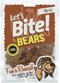 Brit Lets Bite Bears 150g