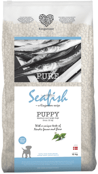 Kingsmoor Seafish Puppy Medium and Large 10 kg - Mængderabat