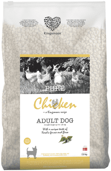 Kingsmoor Chicken Adult Small 7,5 kg - Mængderabat