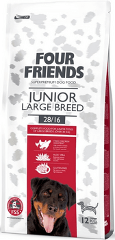 Four Friends Junior Large Breed 12 kg.