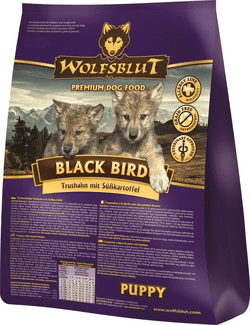 Wolfsblut Black Bird Puppy 15 kg.