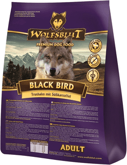 Wolfsblut Hundefoder - Black Bird Adult 15 kg.
