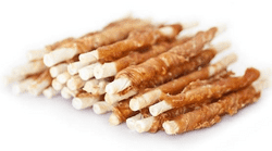 Petcare Twisted chicken Sticks, 12 cm, 25 stk.