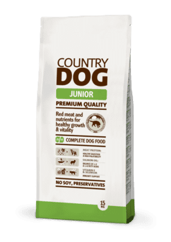 Country Dog Junior 15 kgs