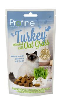 Profine Cat Semi Moist Snack, Turkey & Oat 50g
