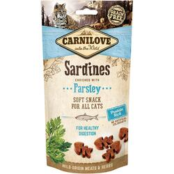 Carnilove Cat Semi Moist Snack Sardine 50g
