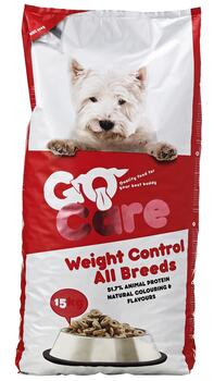 Go Care Hundefoder - Weight Control 15kg