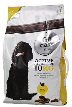 Go Care Royal Hundefoder - Aktive 10kg