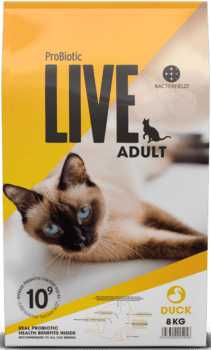 ProBiotic LIVE Kattefoder - Adult And 8kg