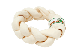 Farmfood Rawhide - Dental Braid Donut L