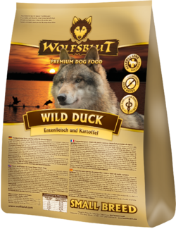 Wolfsblut Hundefoder - Wild Duck Small Breed 15kg - HUL I POSE