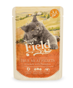 Sam's Field True Meat Fillets - Kylling og Græskar- 85g