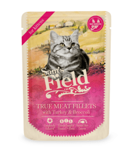 Sam's Field True Meat Fillets - Kalkun og Broccoli 85g