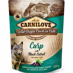 Carnilove Pouch Pate Carp with Black Carrot