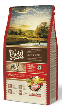 Sams Field Hundefoder - Adult Mini 8 kg