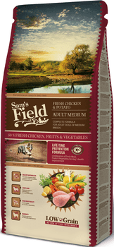 Sams Field Hundefoder - Adult Medium 13 kg + 2kg