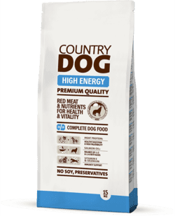 Country Dog High Energy 15 kg.