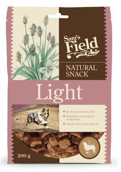 Sams Field Natural Snack Light 200g