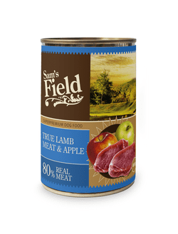 Sams Field True Lamb Meat & Apple 400g
