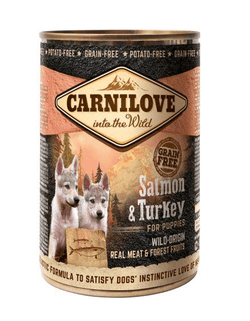 Carnilove Canned Salmon & Turkey Puppies 400g