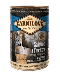 Carnilove Canned Salmon & Turkey 400g