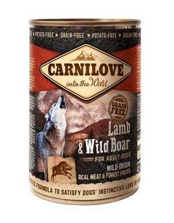 Carnilove Canned Lamb & Wild Boar for Adult 400g