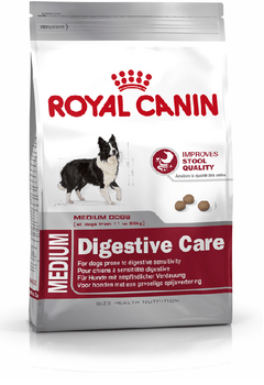 Royal Canin Medium Digestive Care 15 kg.