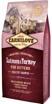 Carnilove Salmon & Turkey for Kittens – Healthy Growth 6 kg.