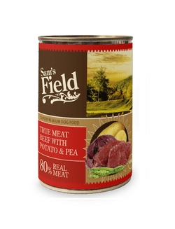 Sams Field True Meat Beef, Potato & Pea 400g