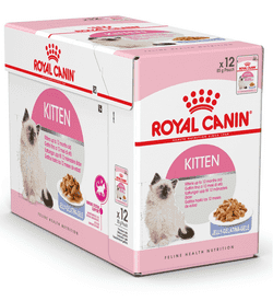 Royal Canin Kitten Instinctive - Bidder i gele 12x85g