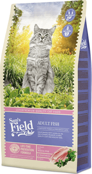 Sams Field Kattefoder - Cat Adult Fish 7,5 kg.