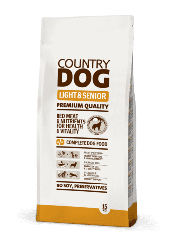 Country Dog Light & Senior 15 kg.