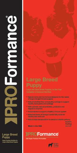 PROFormance Large Breed Puppy 15kg