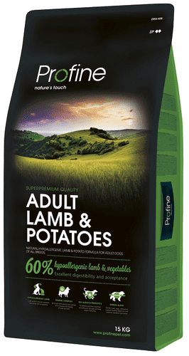 Profine Hundefoder - Adult Lamb & Potatoes 15 kg - HUL I POSE