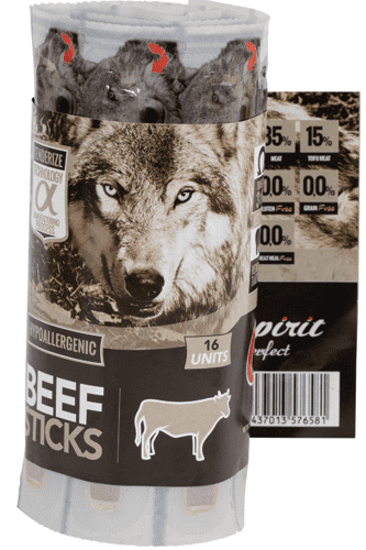 Alpha Spirit Beef Sticks, 16 stk.