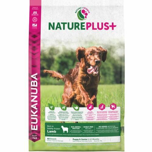 EUK Nature Plus+ Puppy All Breeds Lamb