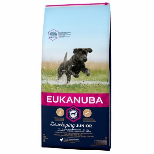 EUK Developing Junior Large Breed 15kg