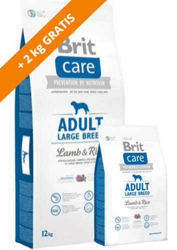 Brit Care Adult Large Breed Lamb & Rice (12+2kg)