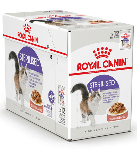 Royal Canin Sterilised - bidder i sovs 12x85g