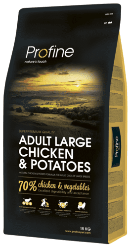 Profine Hundefoder - Adult Large Breed Chicken & Potatoes 15 kg.