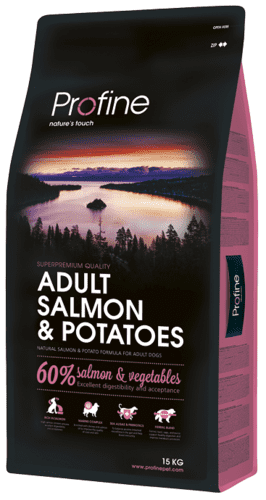 Profine Adult Salmon & Potatoes 15 kg.