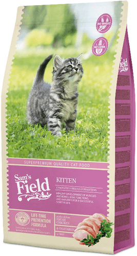 Sams Field Cat Kitten 7,5 kg.