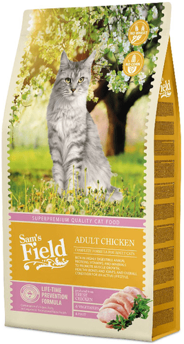 Sams Field Cat Adult Chicken 7,5 kg.