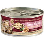 Carnilove Turkey & Salmon for Kittens (12x100g)