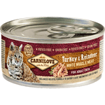 Carnilove Turkey & Reindeer for Adult Cats (12x100g)