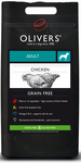 Olivers Adult Chicken Grain Free Large 12 kg.