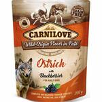 Carnilove Pouch Pate Ostrich with Blackberries (300g)