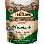 Carnilove Pouch Pate Pheasant with Raspberry Leaves (300g)