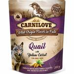 Carnilove Pouch Pate Quail with Yellow Carrot (300g)