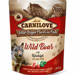 Carnilove Pouch Pate Wild Boar with Rosechips (300g)